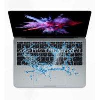 danni da liquido acqua macbook pro a1708