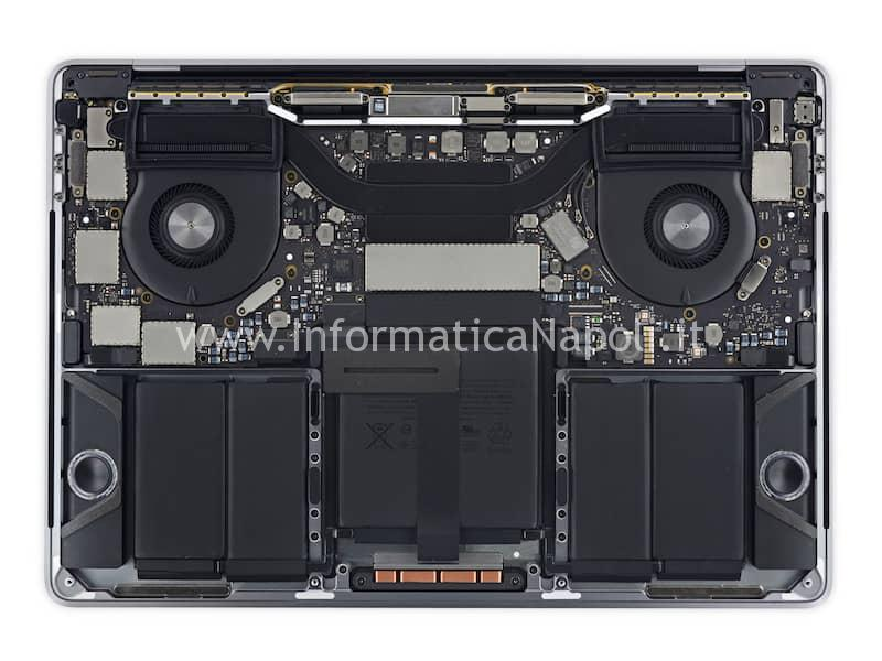 riparazione danno da liquido macbook pro 13 a1706