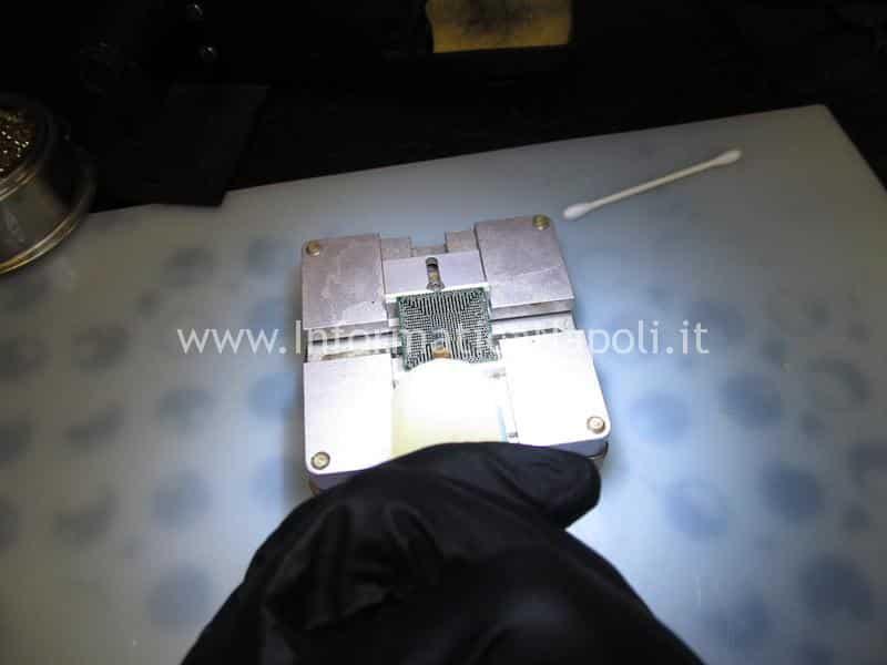 pulizia chipset macbook 13 a1278