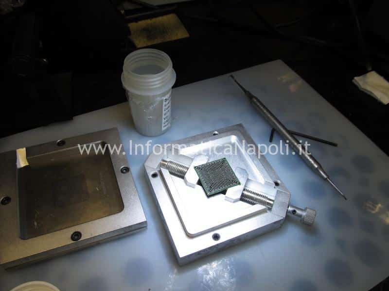 reflow reballing chip macbook pro 13 a1278