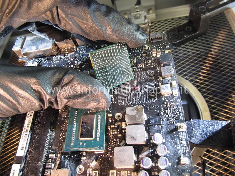 pulizia scheda logica macbook pro 13 a1278