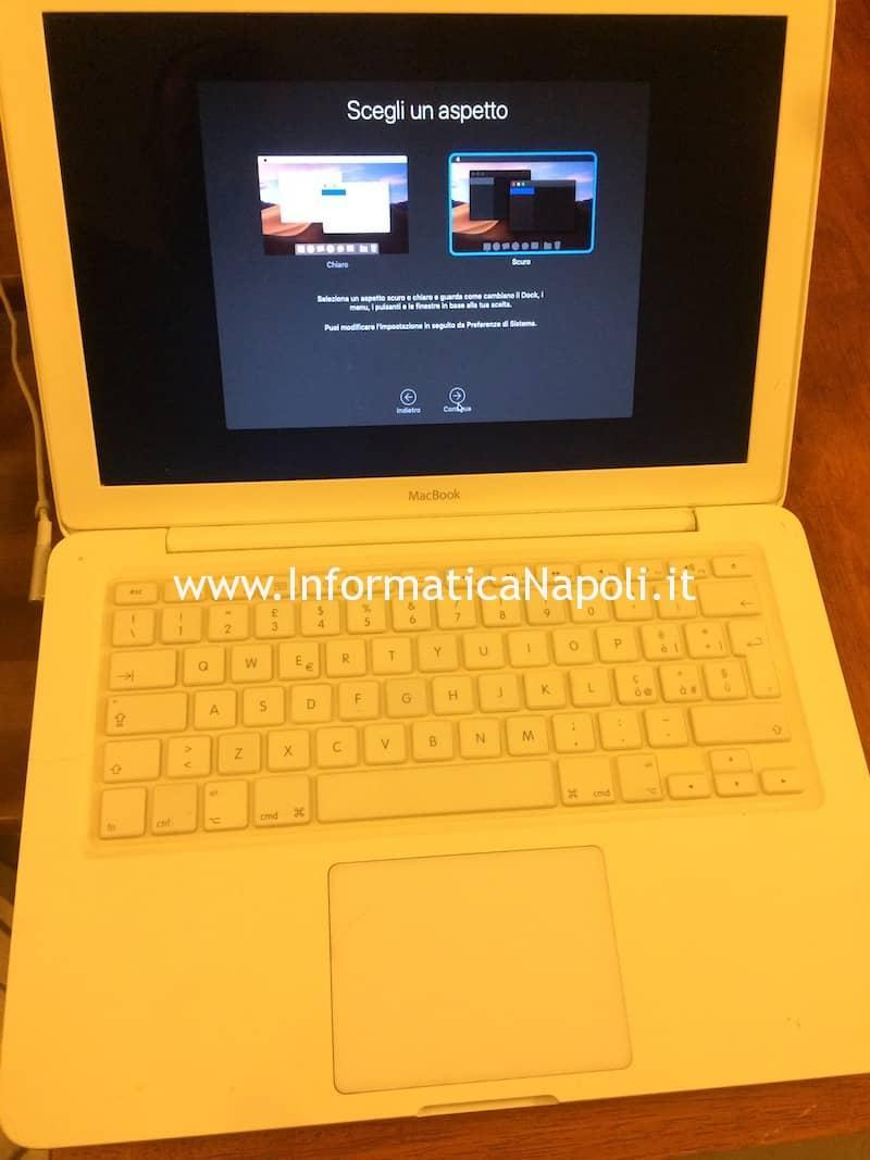 problema mojave su macbook A1342 13
