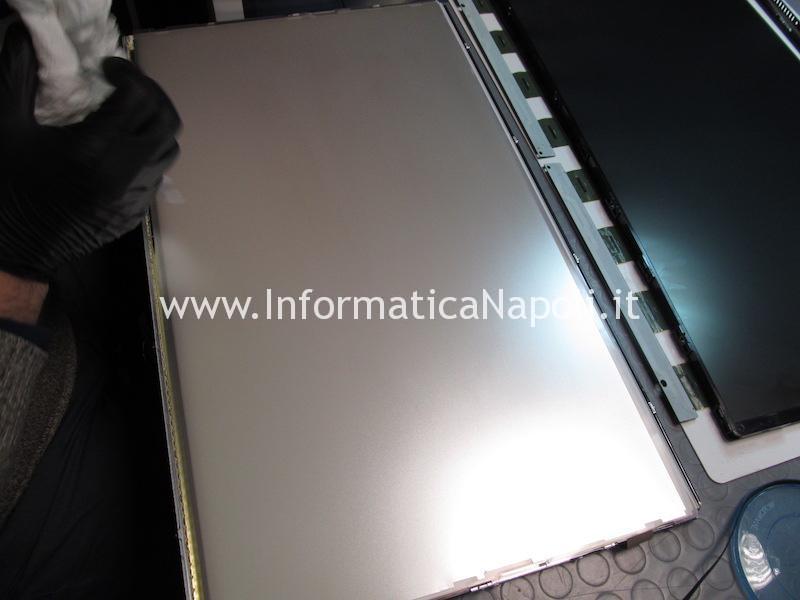 Pulizia display iMac 27 2009 2010 2011