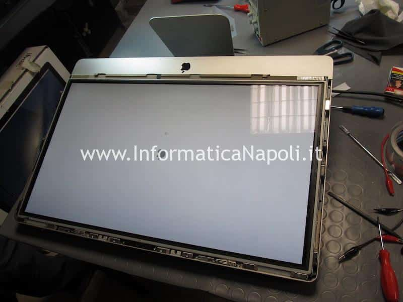 display iMac riparato si illumina