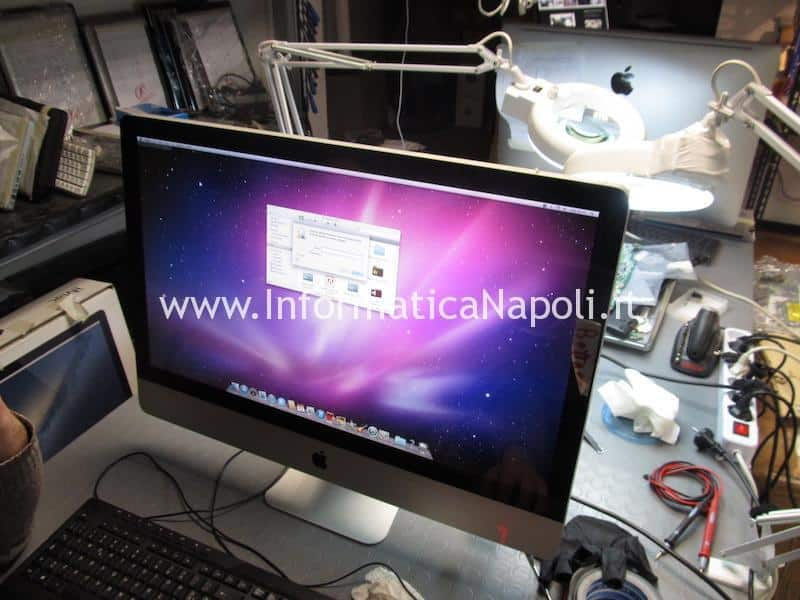 display iMac riparato funzionante