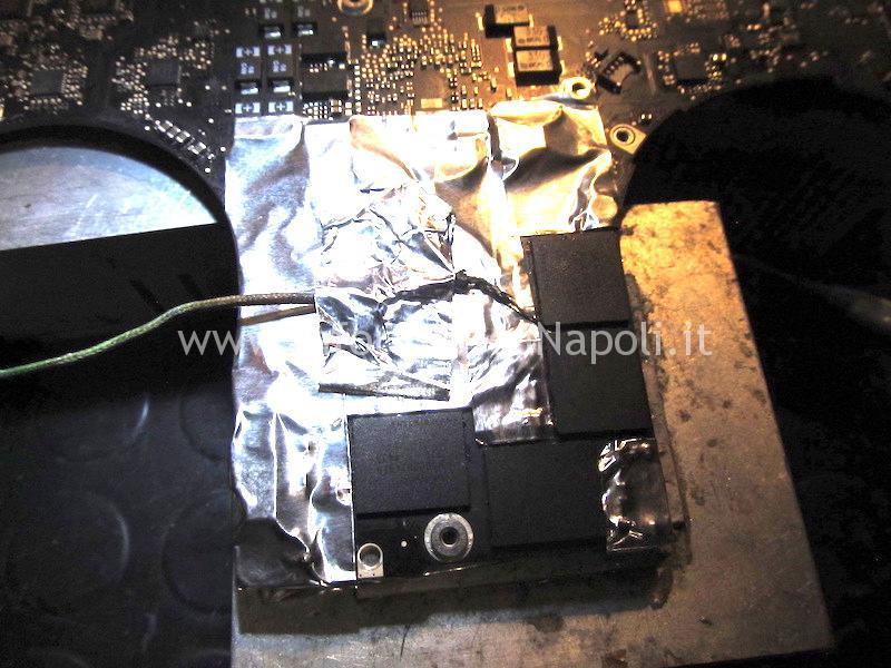 dissaldare riparare vram macbook pro