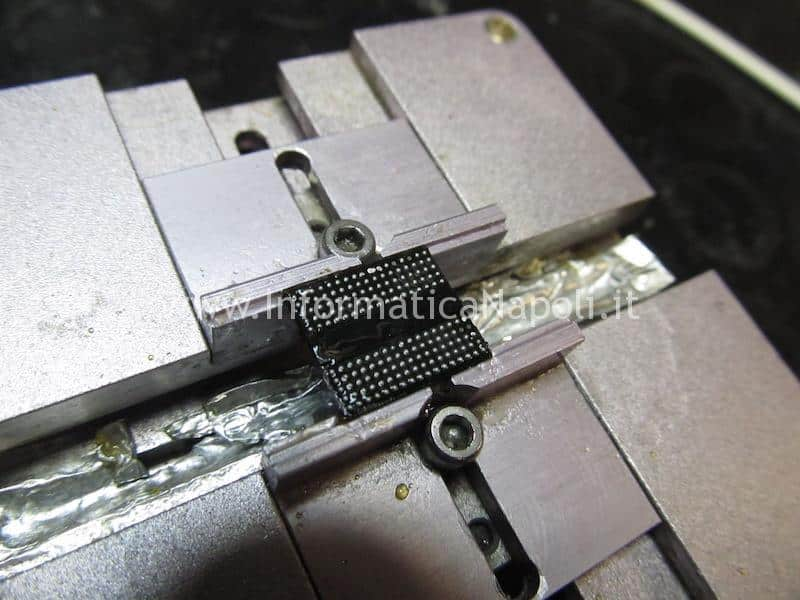 pulizia chip vram macbook pro