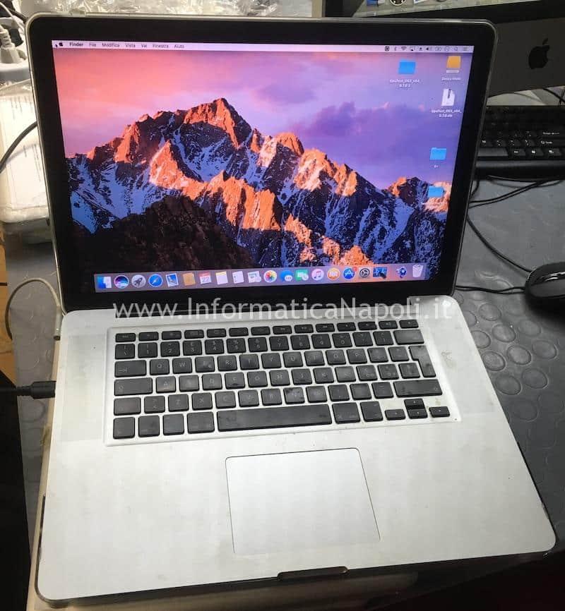 MacBook pro OK Riparato