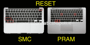 Come resettare PRAM e SMC sui MacBook