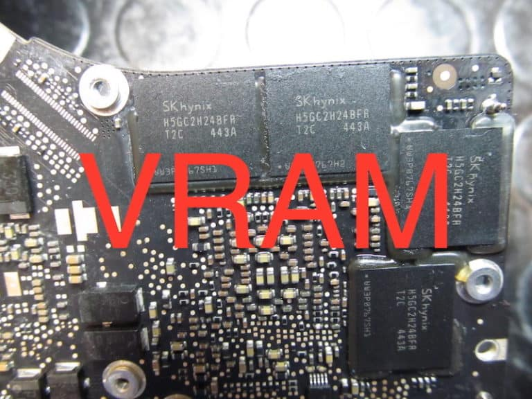 Reballing VRAM su Apple MacBook con problemi di scheda video