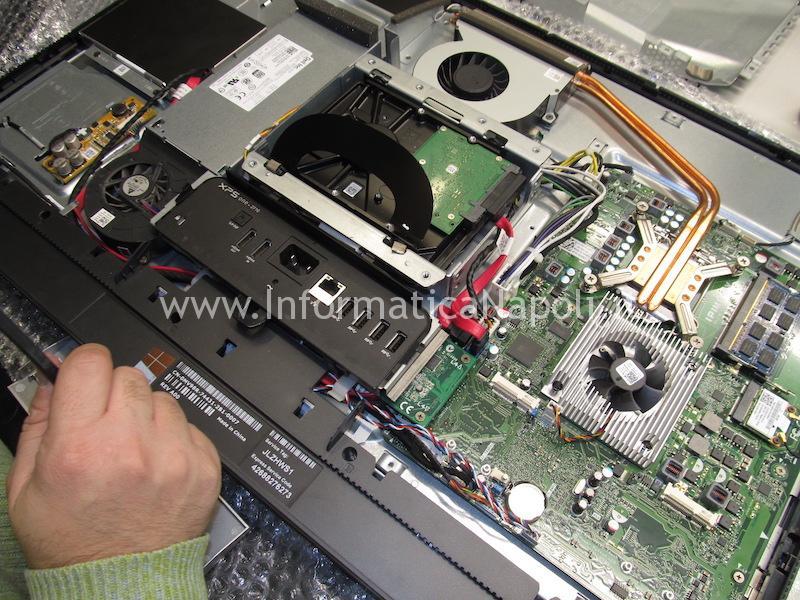 riparazione scheda madre Dell XPS One 2710 W06C IPIMB-PV