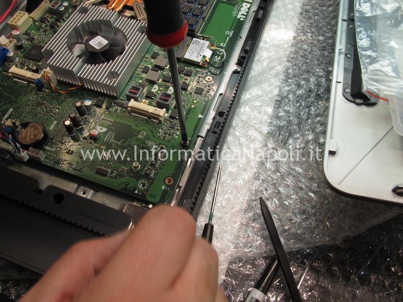 come smontare scheda madre Dell XPS One 2710 W06C IPIMB-PV