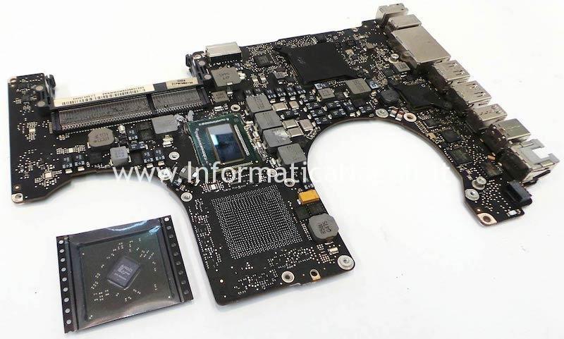 sostituzione GPU AMD macbookpro a1286 2011 rework