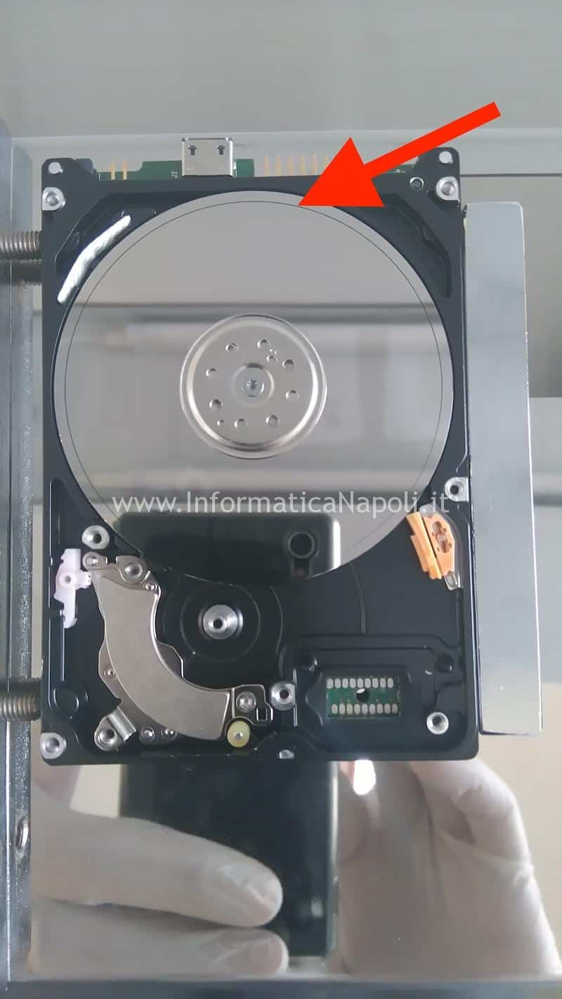 danni irreversibili hard disk