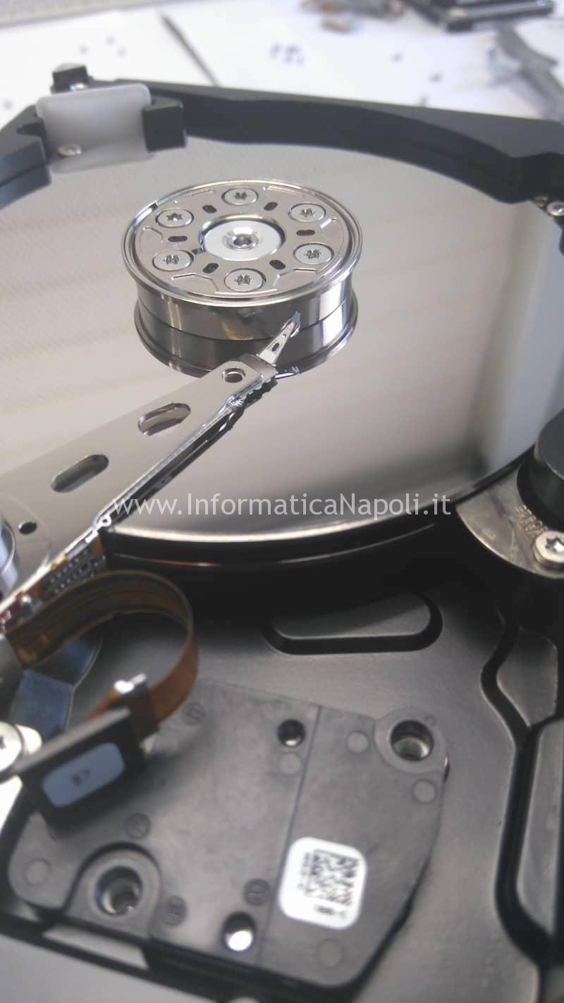 recupero dati hard disk sostituzione testine