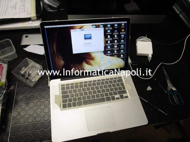 assistenza MacBook Pro 15 2008 820-2330-A riparato e funzionante