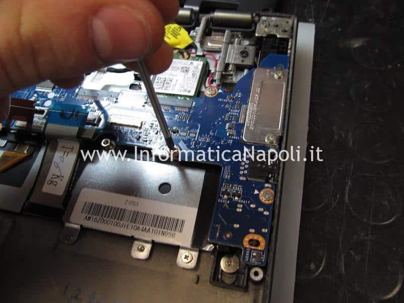assistenza riparazione Lenovo ThinkPad Yoga 12 Business Ultrabook SL10G59249 ZIPS3 LA-A342P schermo nero