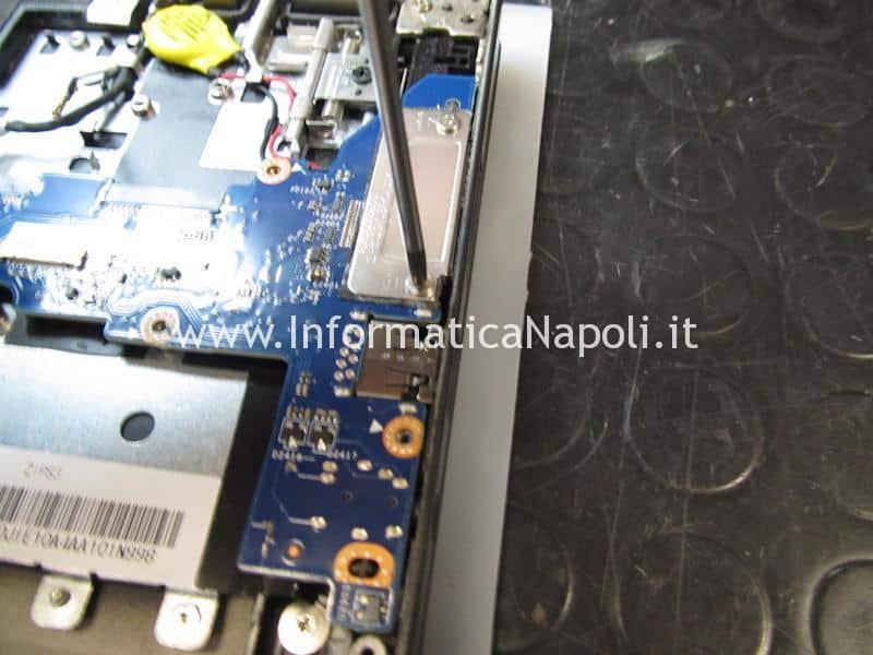problemi Lenovo ThinkPad Yoga 12 Business Ultrabook SL10G59249 ZIPS3 LA-A342P schermo nero
