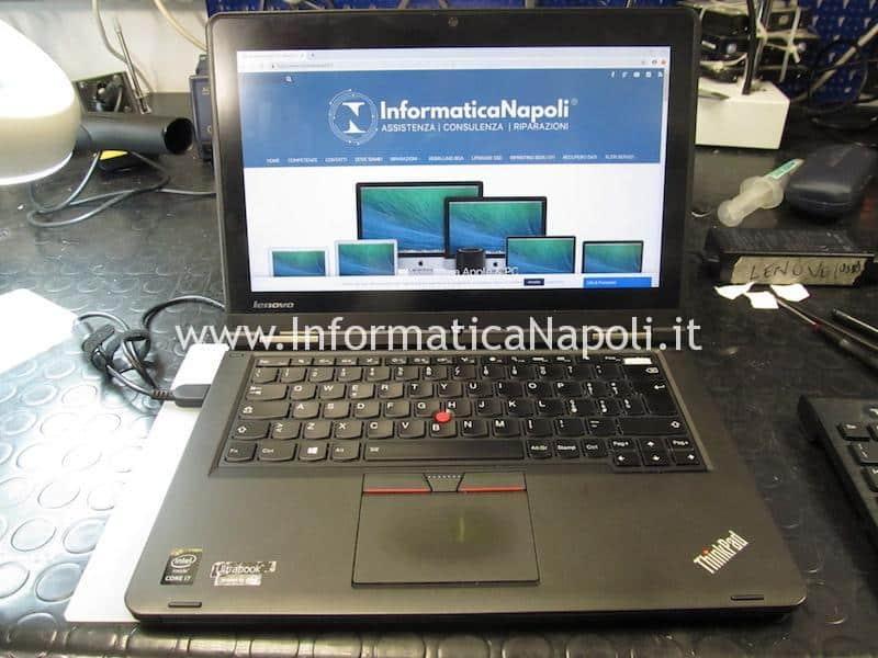 Lenovo ThinkPad Yoga 12 Business Ultrabook SL10G59249 ZIPS3 LA-A342P funzionante si accende