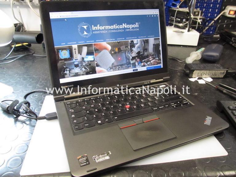 Mancata accensione Lenovo ThinkPad Yoga 12
