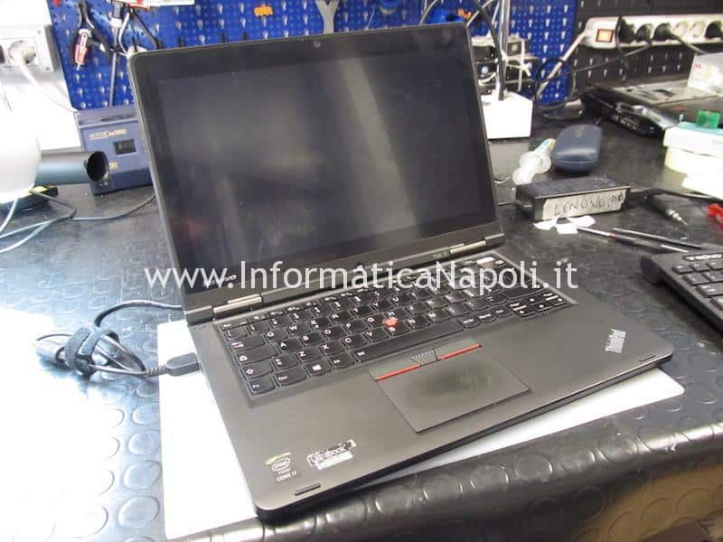 problema accensione Lenovo ThinkPad Yoga 12 Business Ultrabook SL10G59249 ZIPS3 LA-A342P