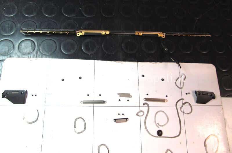 problema display macbook pro touch bar A1707 A1708 A1706
