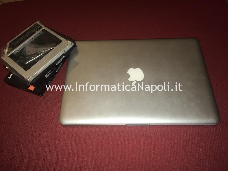 upgrade doppio SSD macbook pro 13
