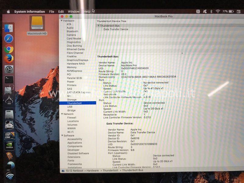 Prima di disperarvi rivolgetevi a noi per un preventivo: con i nostri strumenti recupereremo probabilmente tutti i dati presenti sul disco SSD senza dover attendere un'eventuale riparazione del MacBook.