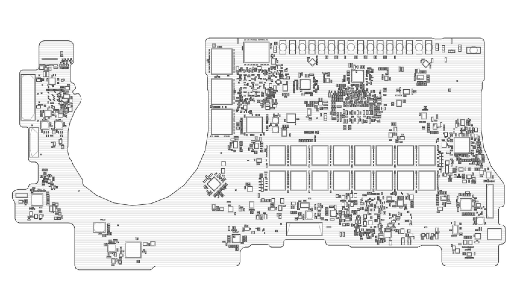 a1398 riparazione CPU Vcore macbook pro 15 retina 2012