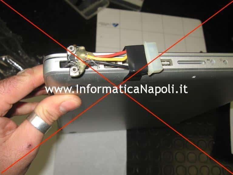 danni interventi improvvisati macbook