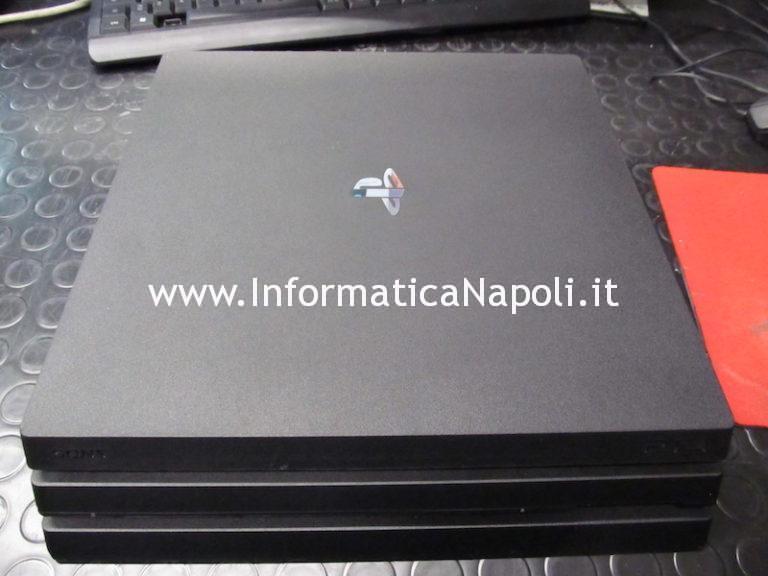 Assistenza Playstation 4 PRO: Problema schermo nero | sostituzione connettore HDMI