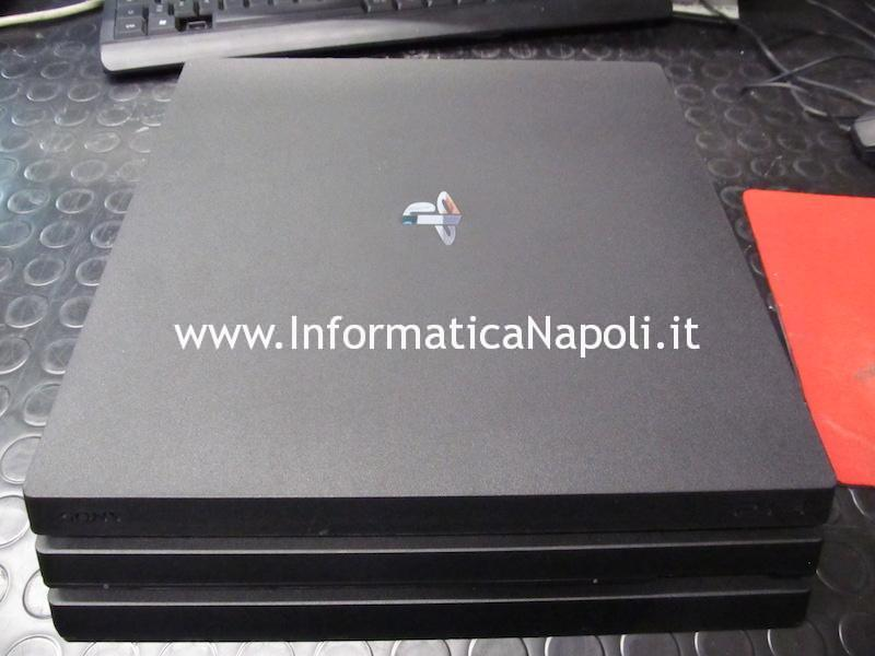 Problema Sony PlayStation 4 PS4 Pro CUH-7016B 1TB non si accende