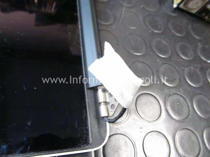 come riparare Display retina macbook A1502 A1368