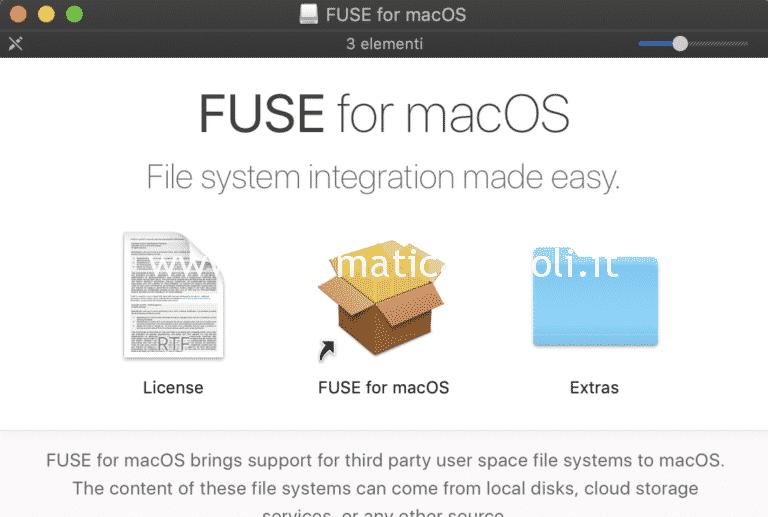 Assistenza Apple: come abilitare NTFS in scrittura su macOS