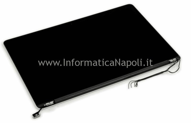 sostituzione display macbook pro 13 15 retina