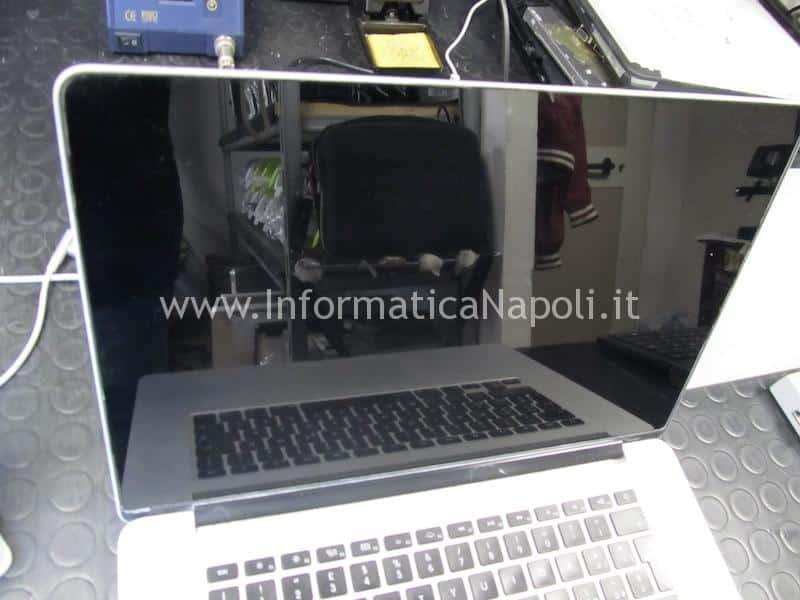display retina smacchiato lucidato MacBook pro 13   15