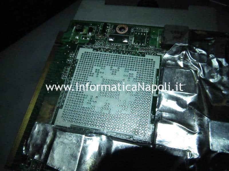 problemi scheda video Asus M50S scheda video MXM II nVidia 9500m G84-625-A2 256mb