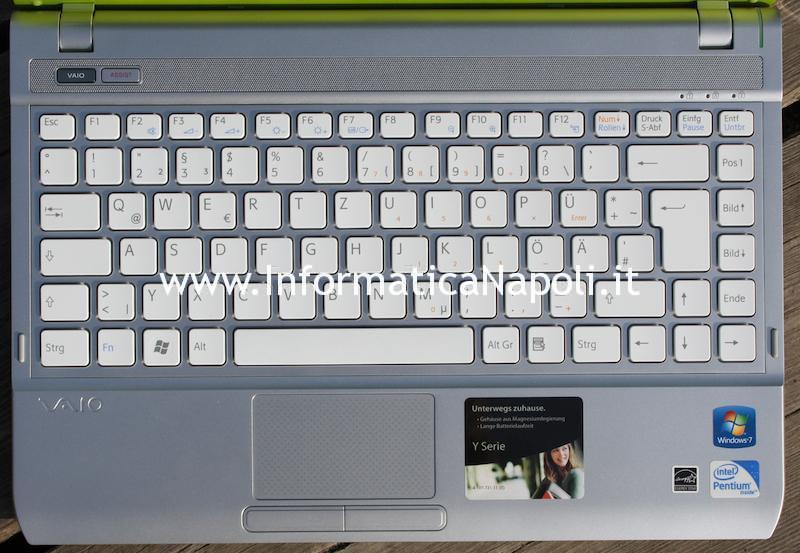 Ripristino bios Sony Vaio VPCY2 VPC-Y2 scheda madre MBX-229