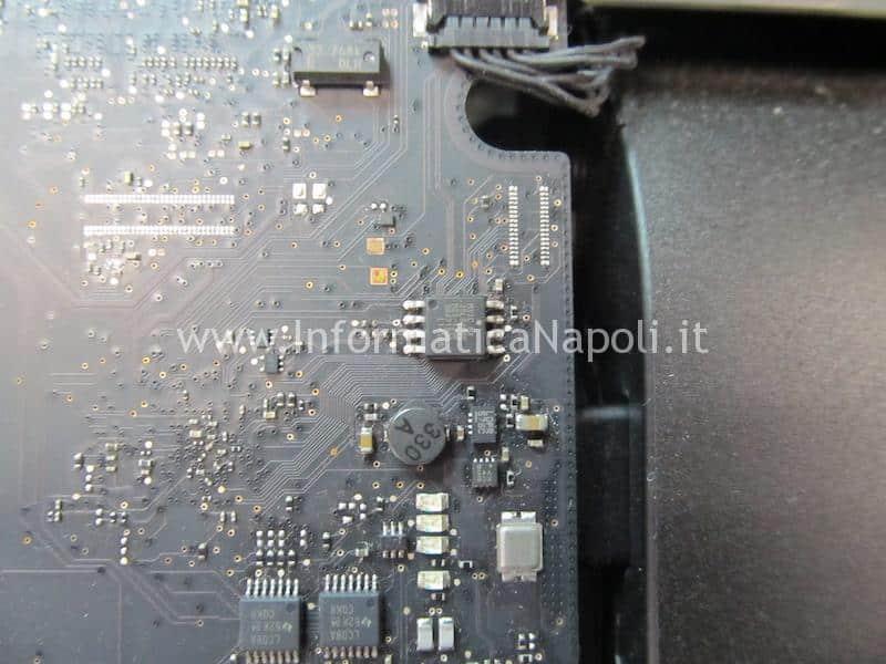 Riprogrammazione bios EFI chime loop iMac 21,5 27 slim A1418 A1419 problema suono loop avvio