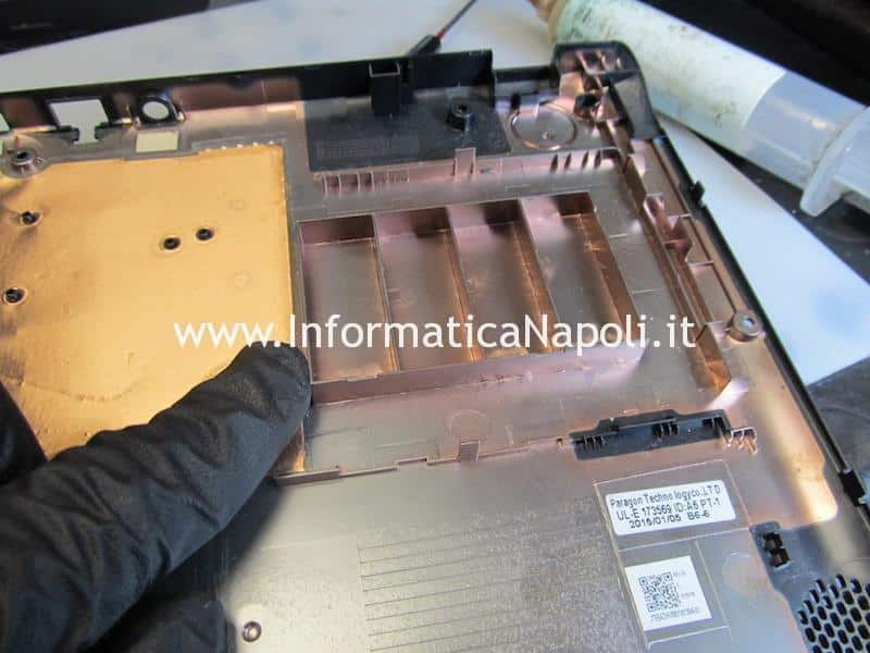 come sostituire hard disk SSD eMMC HDD Acer Aspire ES1