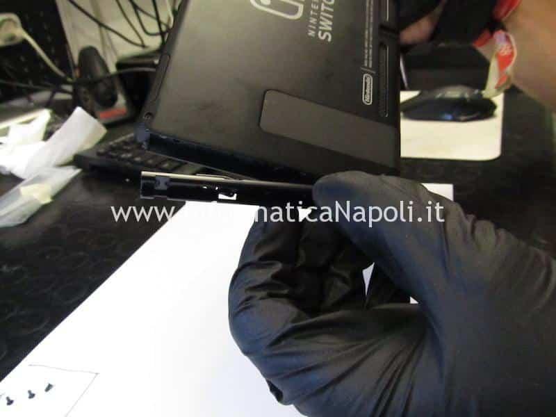 Nintendo Switch USB-C danneggiata non si può ricaricare HAC-S-JP/EU-C0 Switch HAC-001