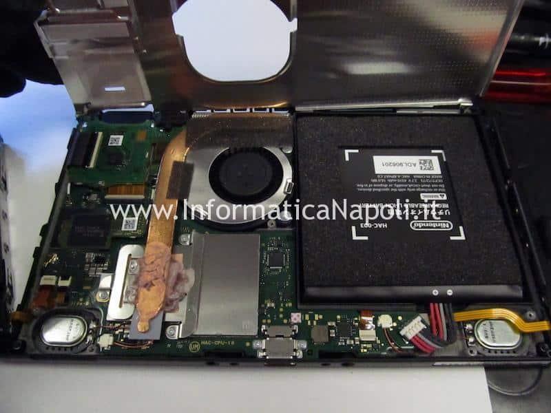 Nintendo Switch HAC-001 sostituire chip IC ricarica P13USB M92T36