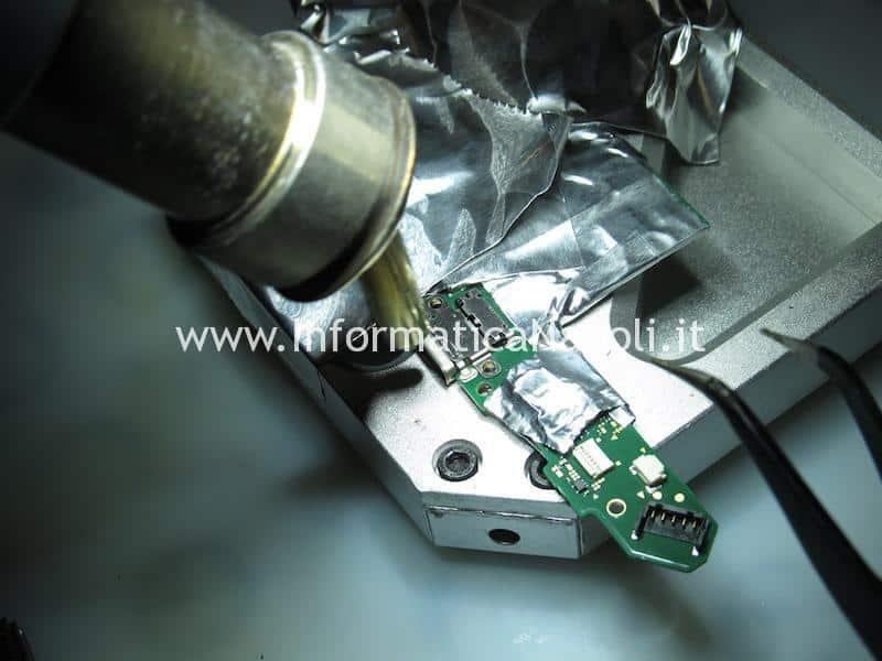 sostituzione connettore dc power Nintendo Switch HAC-001