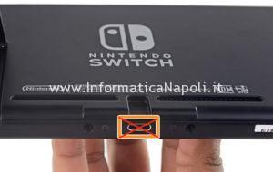 Nintendo Switch USB-C danneggiata