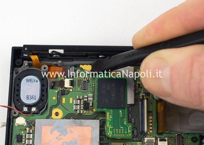 problema flat motherboard nintendo switch