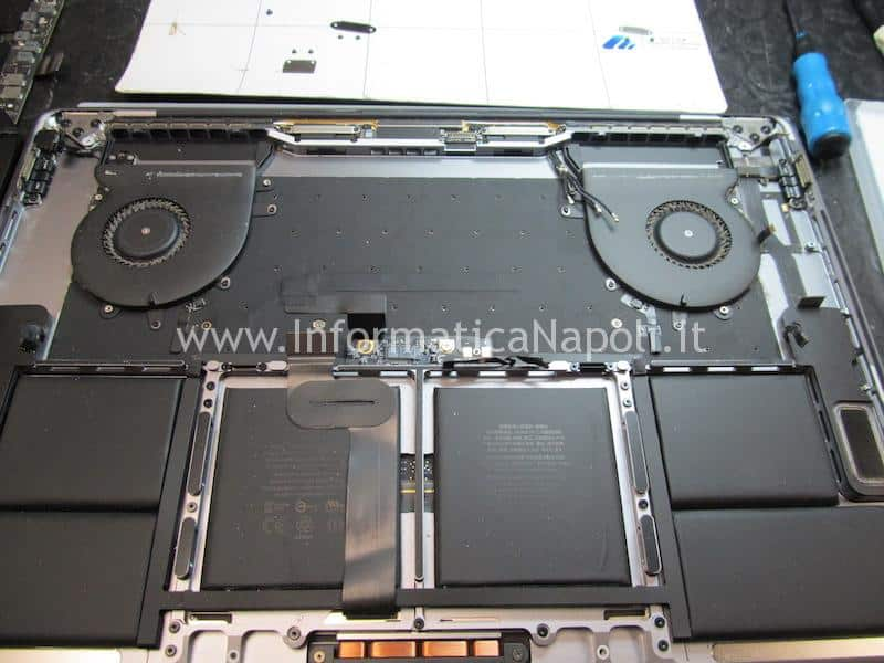 sostituzione tastiera macbook pro 15 a1707 centro assistenza apple