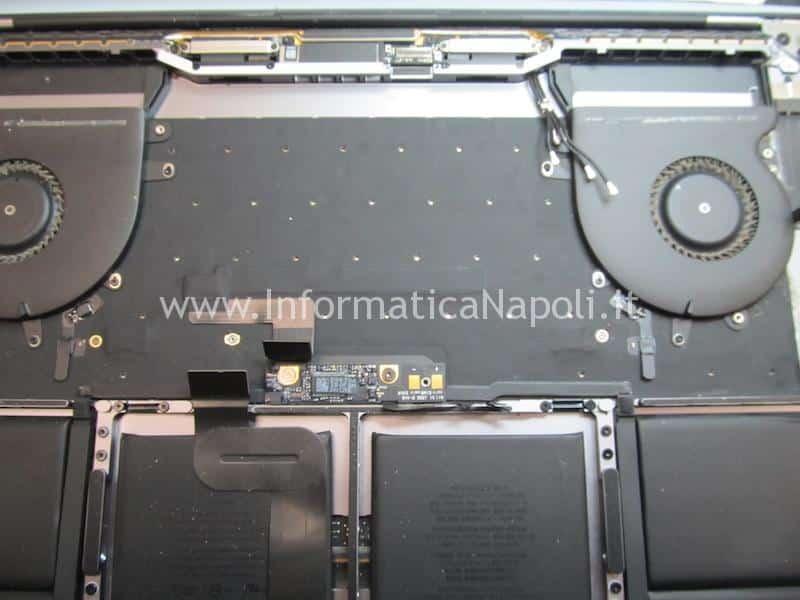 servizio cambio tastiera macbook pro 15 a1707 centro assistenza apple
