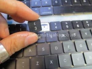 macbook pro 15 a1707 13 a1706 a1708 cambio tastiera inglese italiana