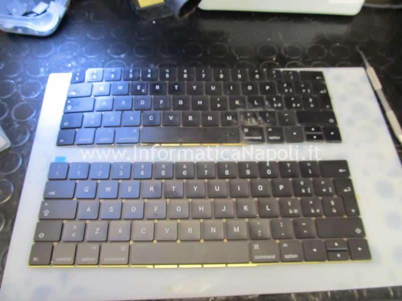 macbook pro 15 a1707 13 a1706 a1708 cambiare tastiera inglese italiana