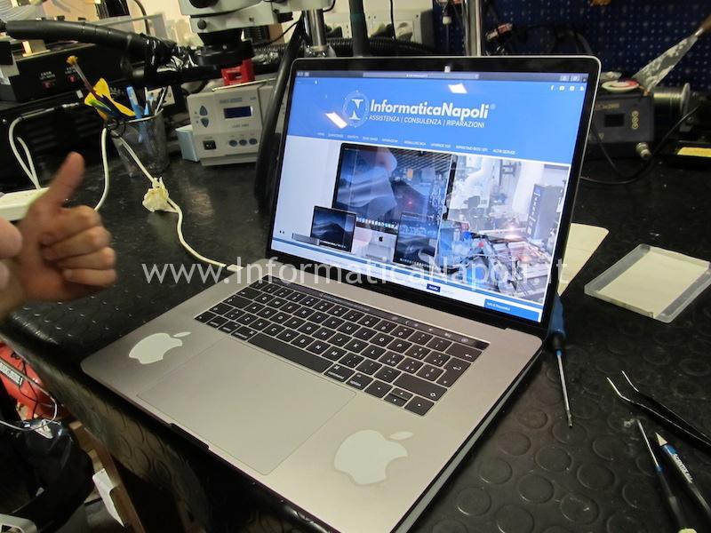 Assistenza MacBook pro touchbar 13 15 16
